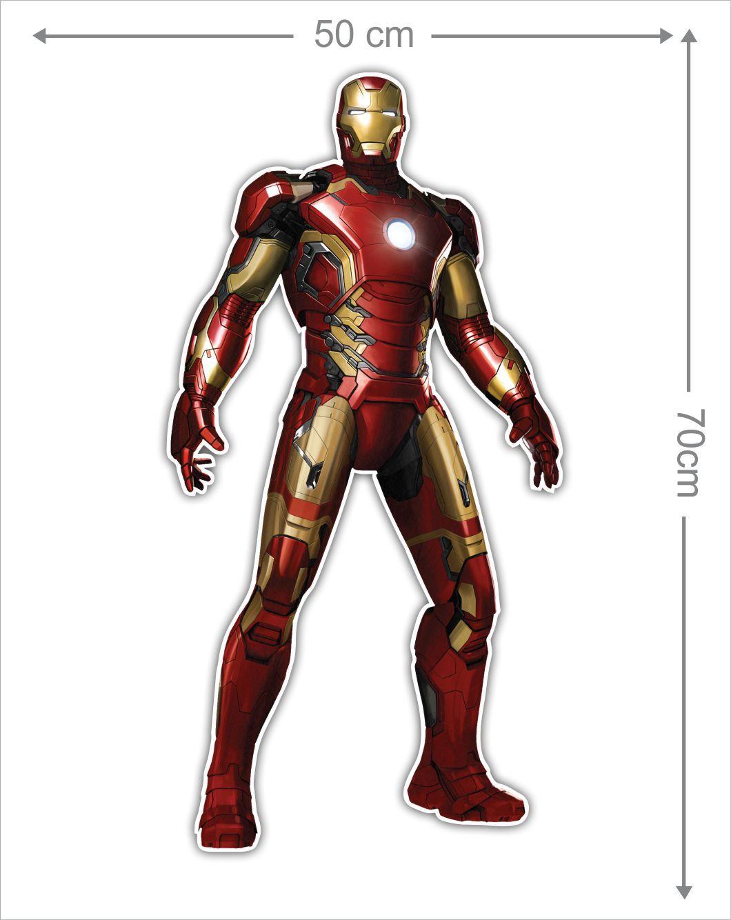 Adesivo Decorativo Heróis 0010  - Paredes Decoradas