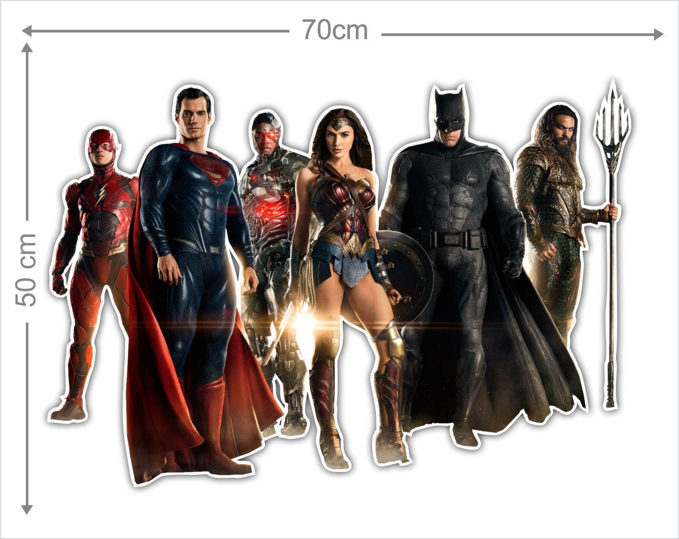Adesivo Decorativo Heróis 0017  - Paredes Decoradas