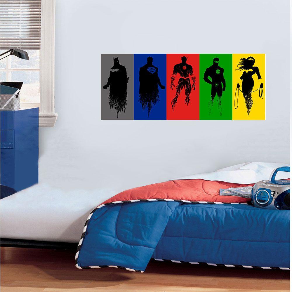 Adesivo Decorativo Heróis 0021