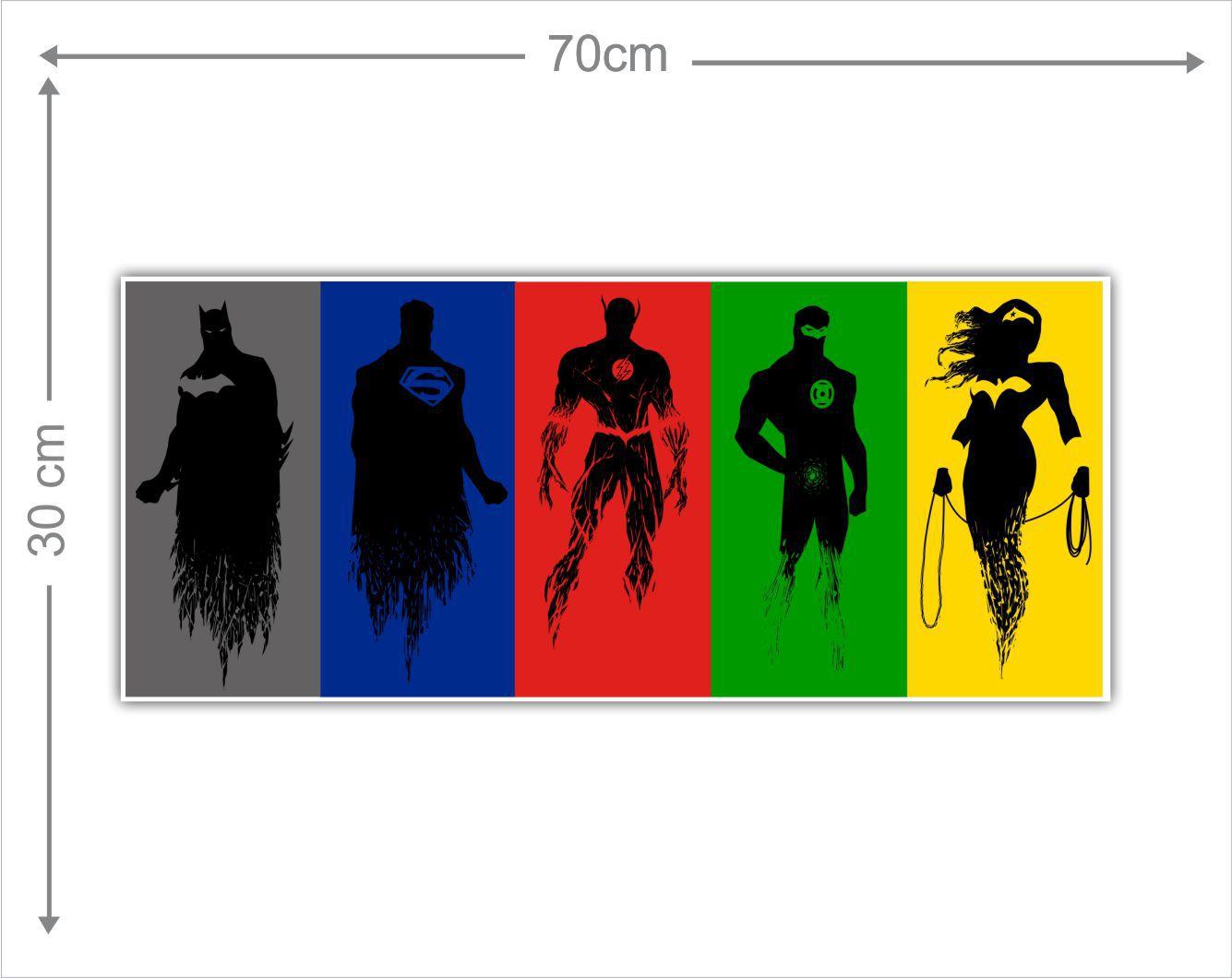 Adesivo Decorativo Heróis 0021  - Paredes Decoradas