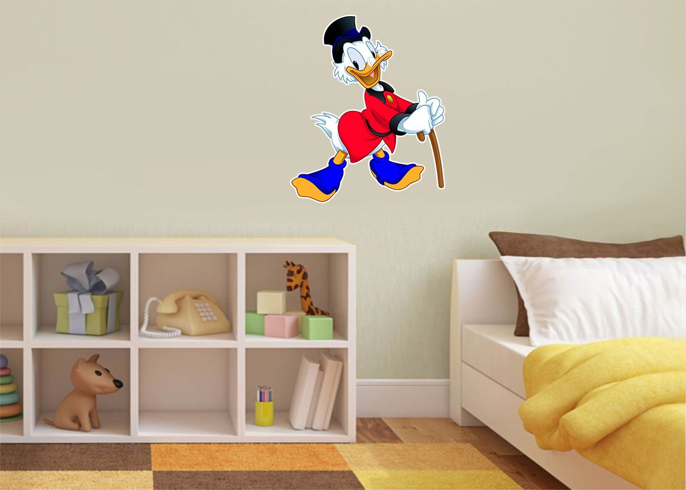 Adesivo Decorativo Mickey 0001 - Paredes Decoradas
