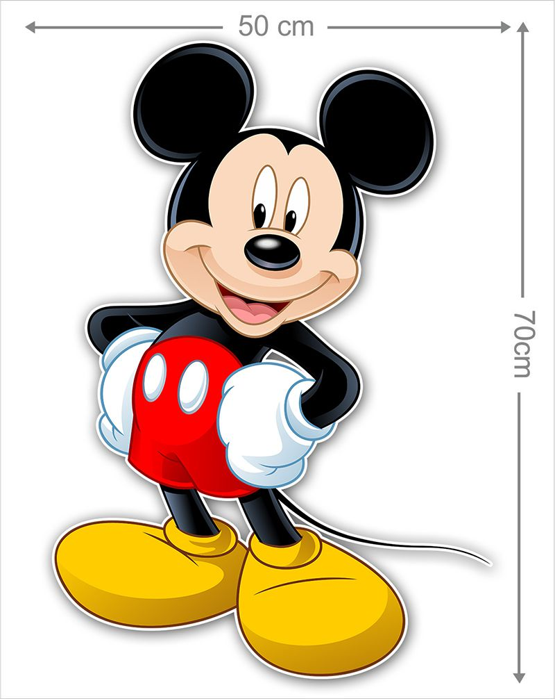 Adesivo Decorativo Mickey 0008  - Paredes Decoradas