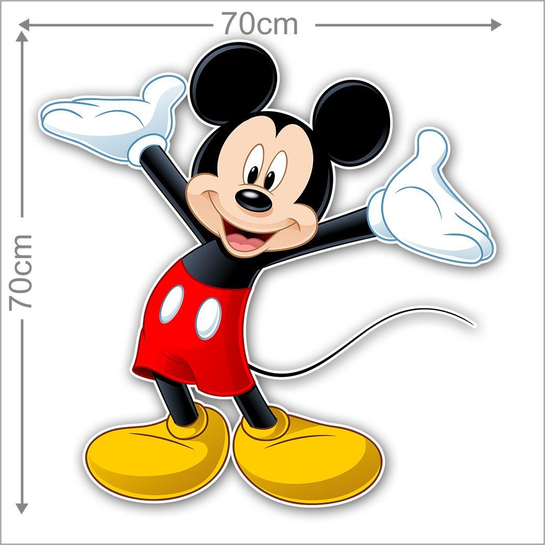Adesivo Decorativo Mickey 0010  - Paredes Decoradas