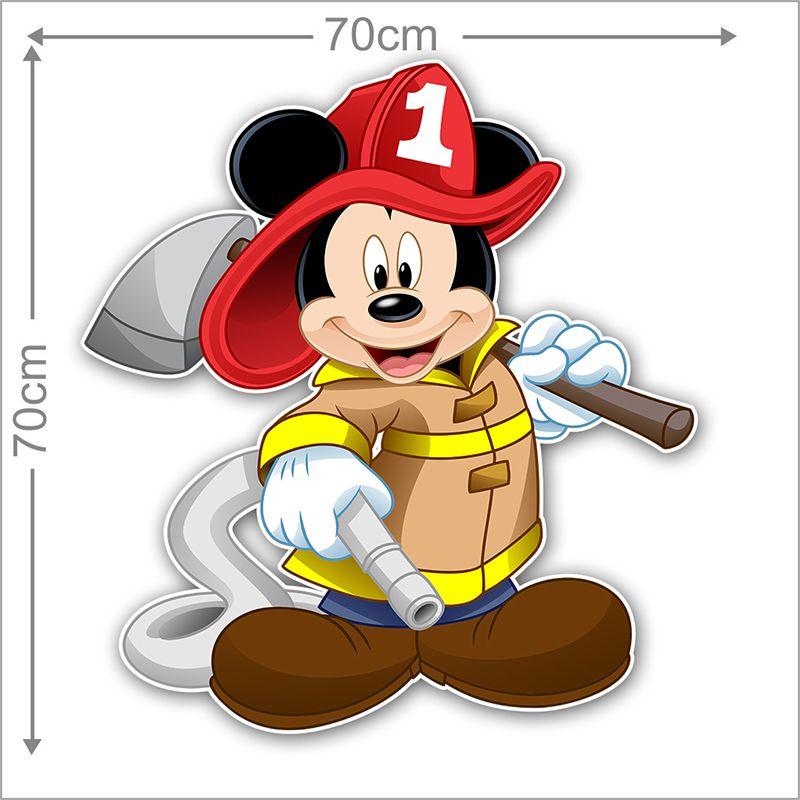 Adesivo Decorativo Mickey 0012  - Paredes Decoradas