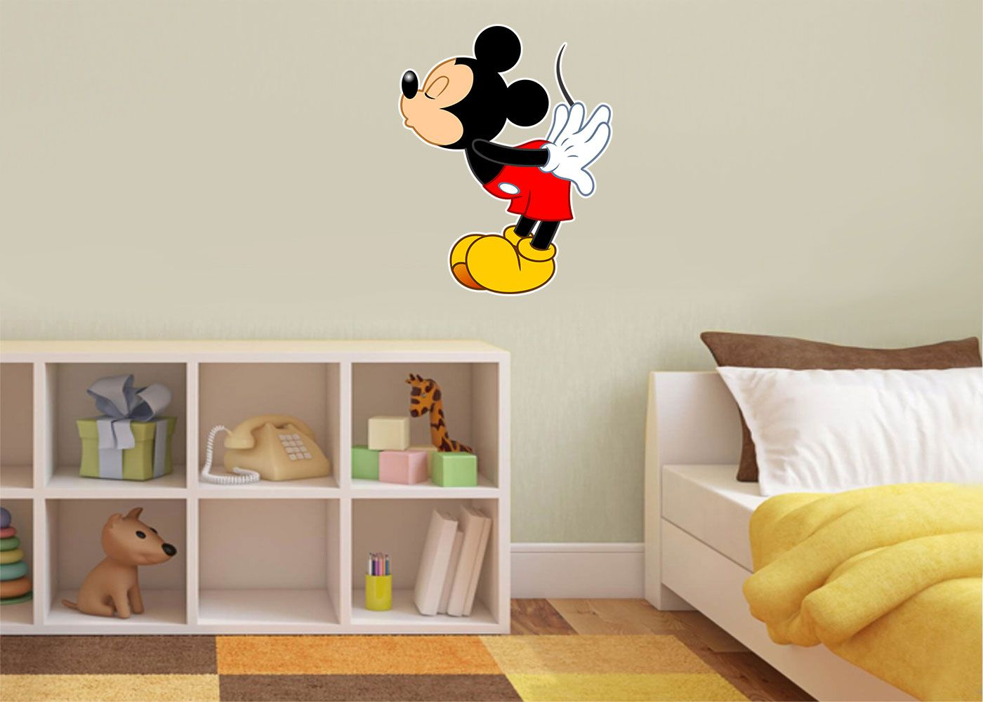 Adesivo Decorativo Mickey 0014  - Paredes Decoradas