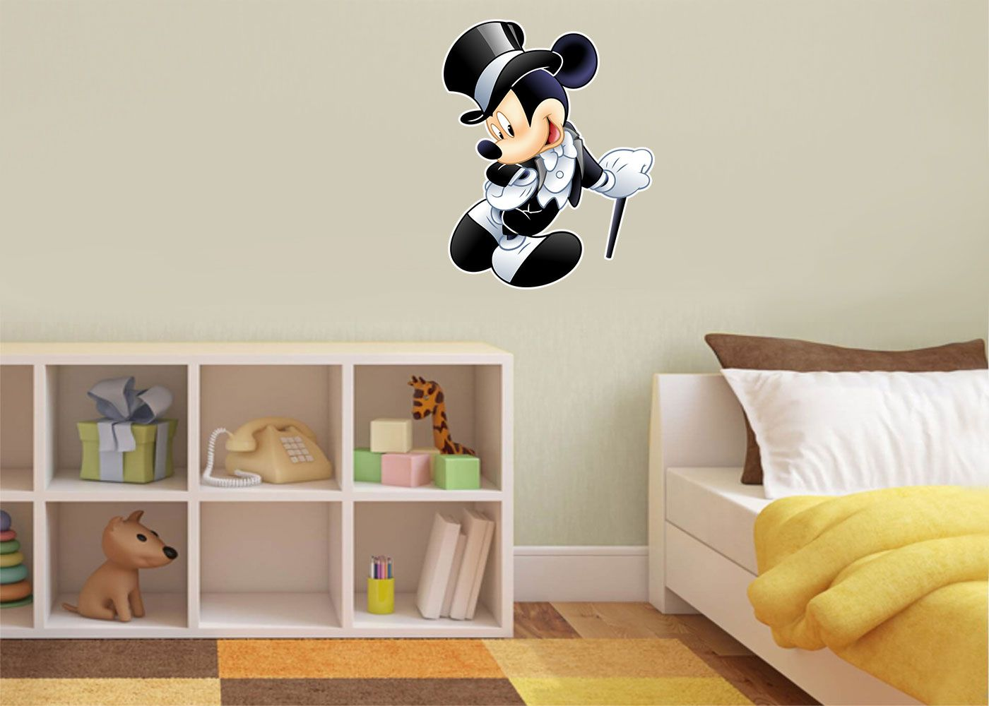 Adesivo Decorativo Mickey 0015  - Paredes Decoradas