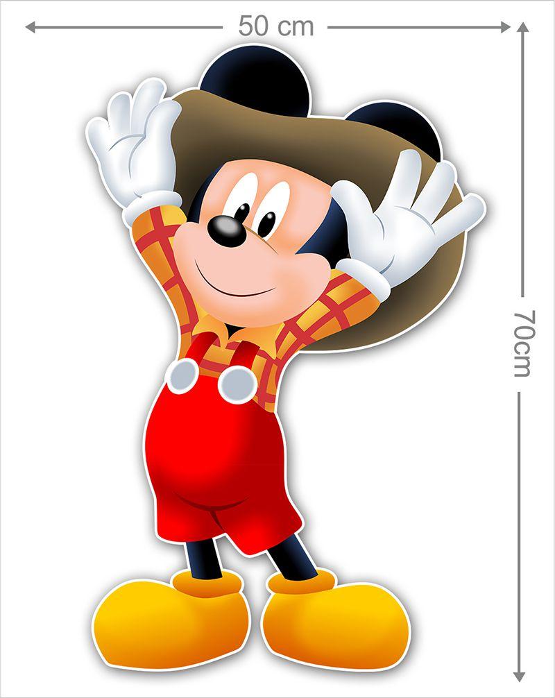 Adesivo Decorativo Mickey 0016  - Paredes Decoradas