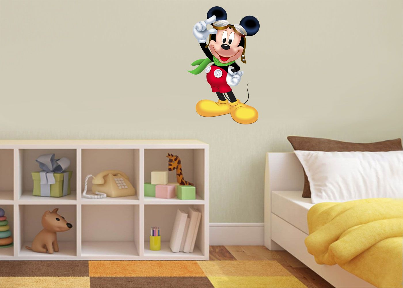 Adesivo Decorativo Mickey 0020  - Paredes Decoradas