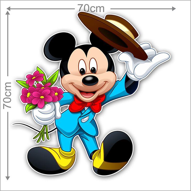 Adesivo Decorativo Mickey 0023  - Paredes Decoradas