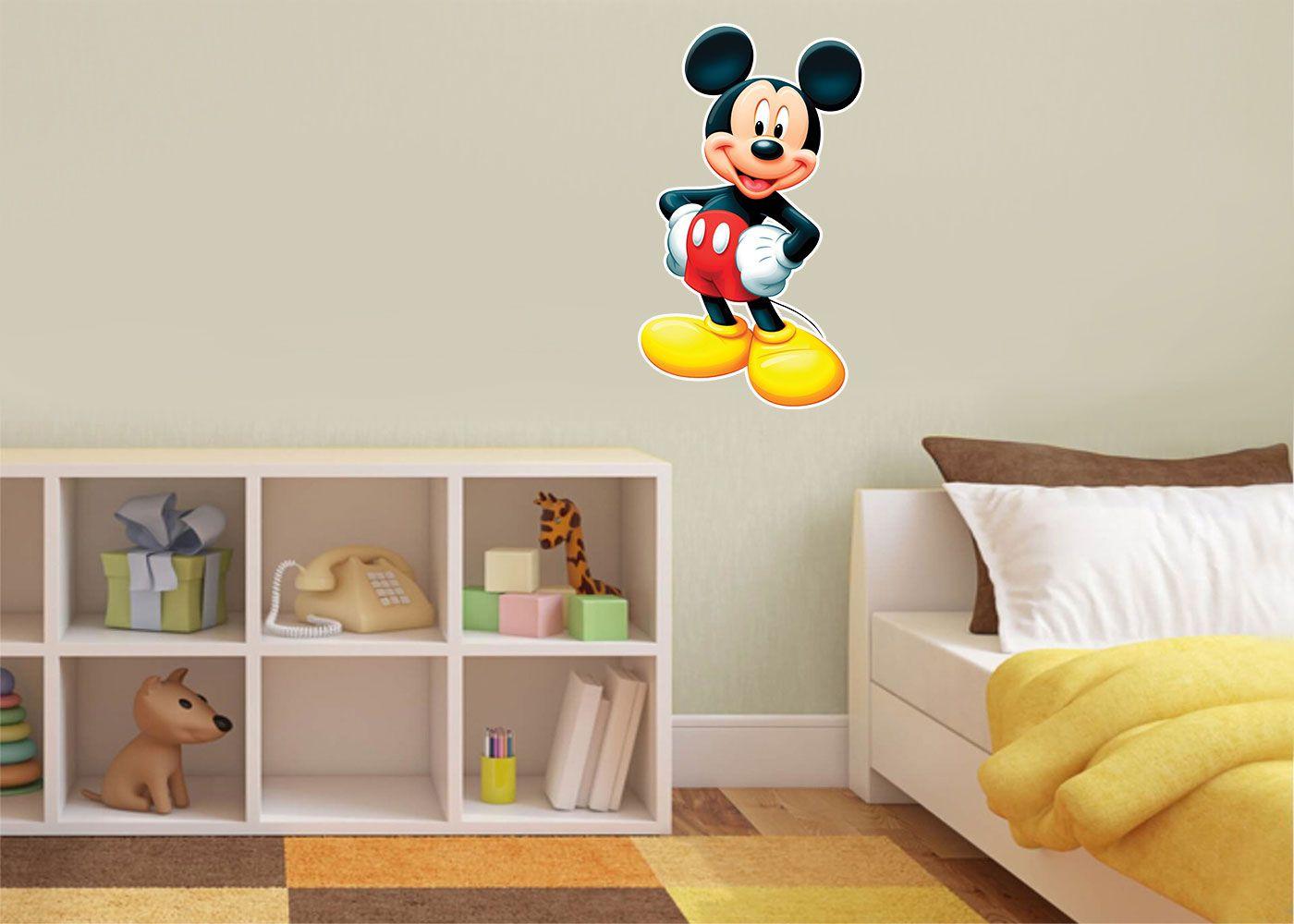 Adesivo Decorativo Mickey 0024  - Paredes Decoradas