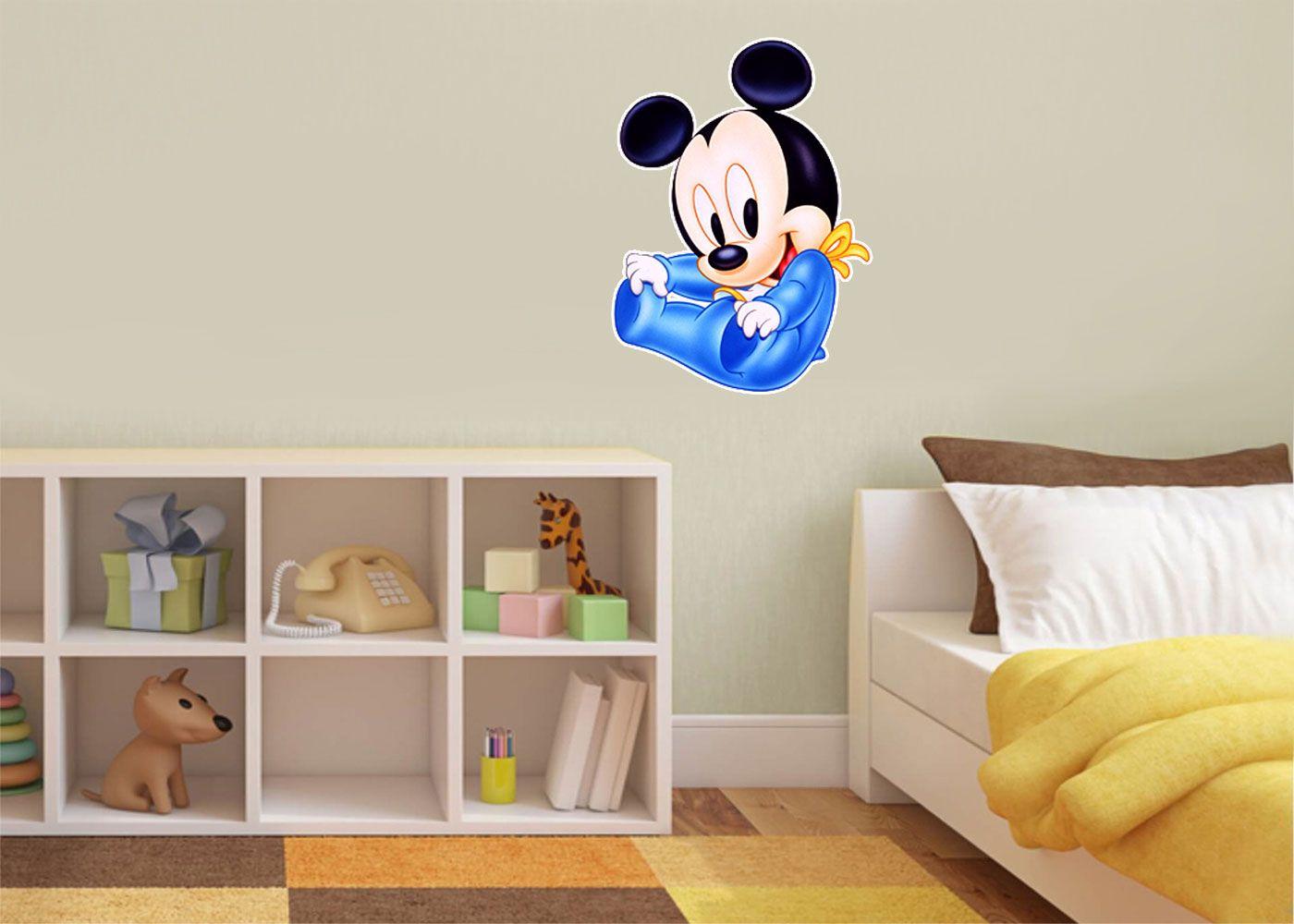 Adesivo Decorativo Mickey 0025  - Paredes Decoradas