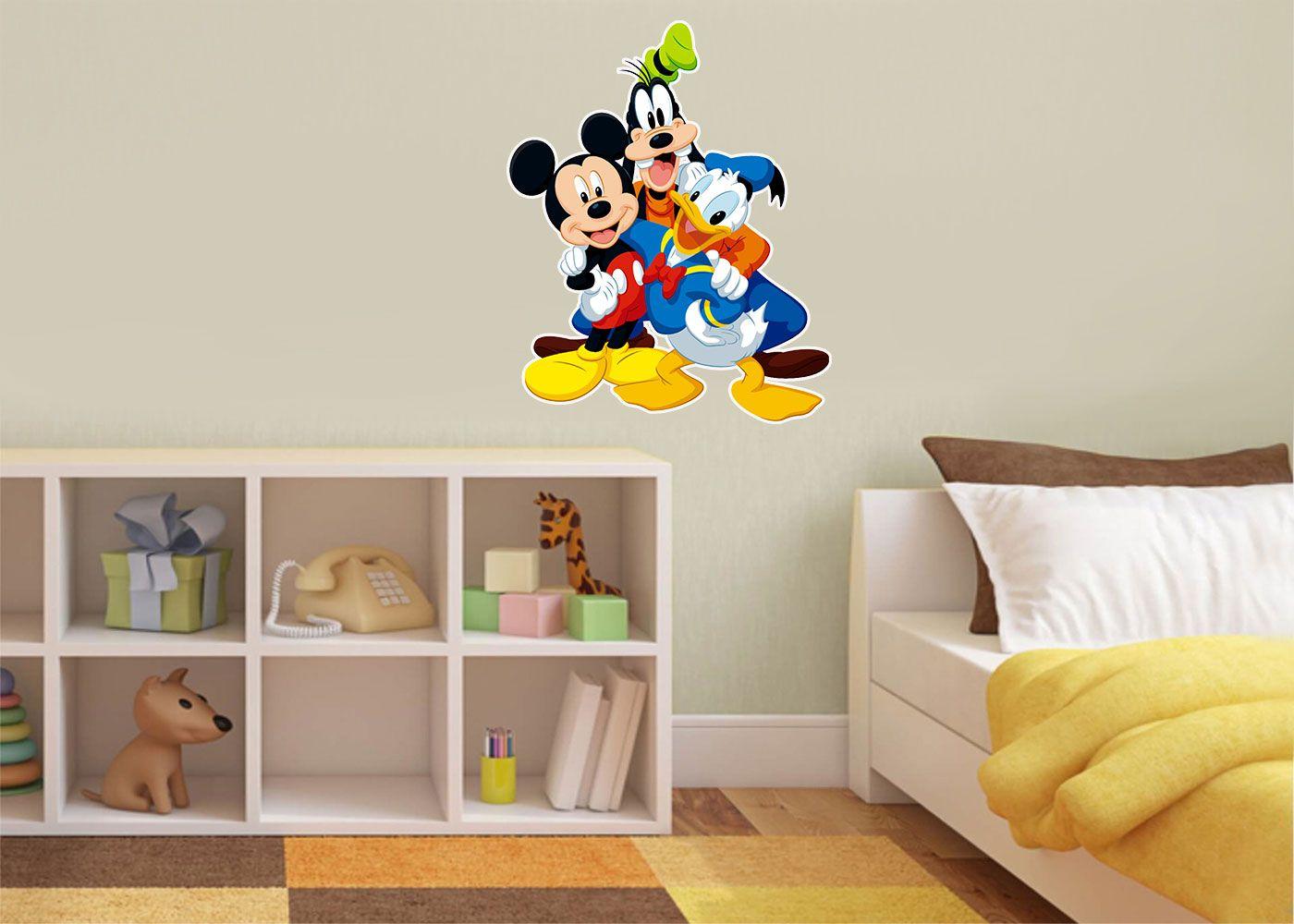 Adesivo Decorativo Mickey 0026  - Paredes Decoradas
