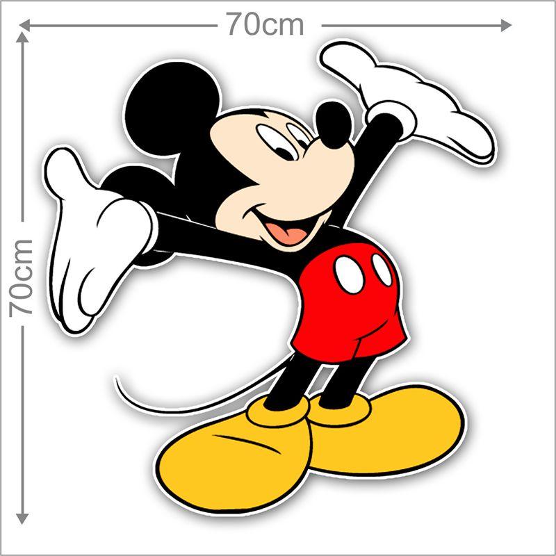 Adesivo Decorativo Mickey 0028  - Paredes Decoradas