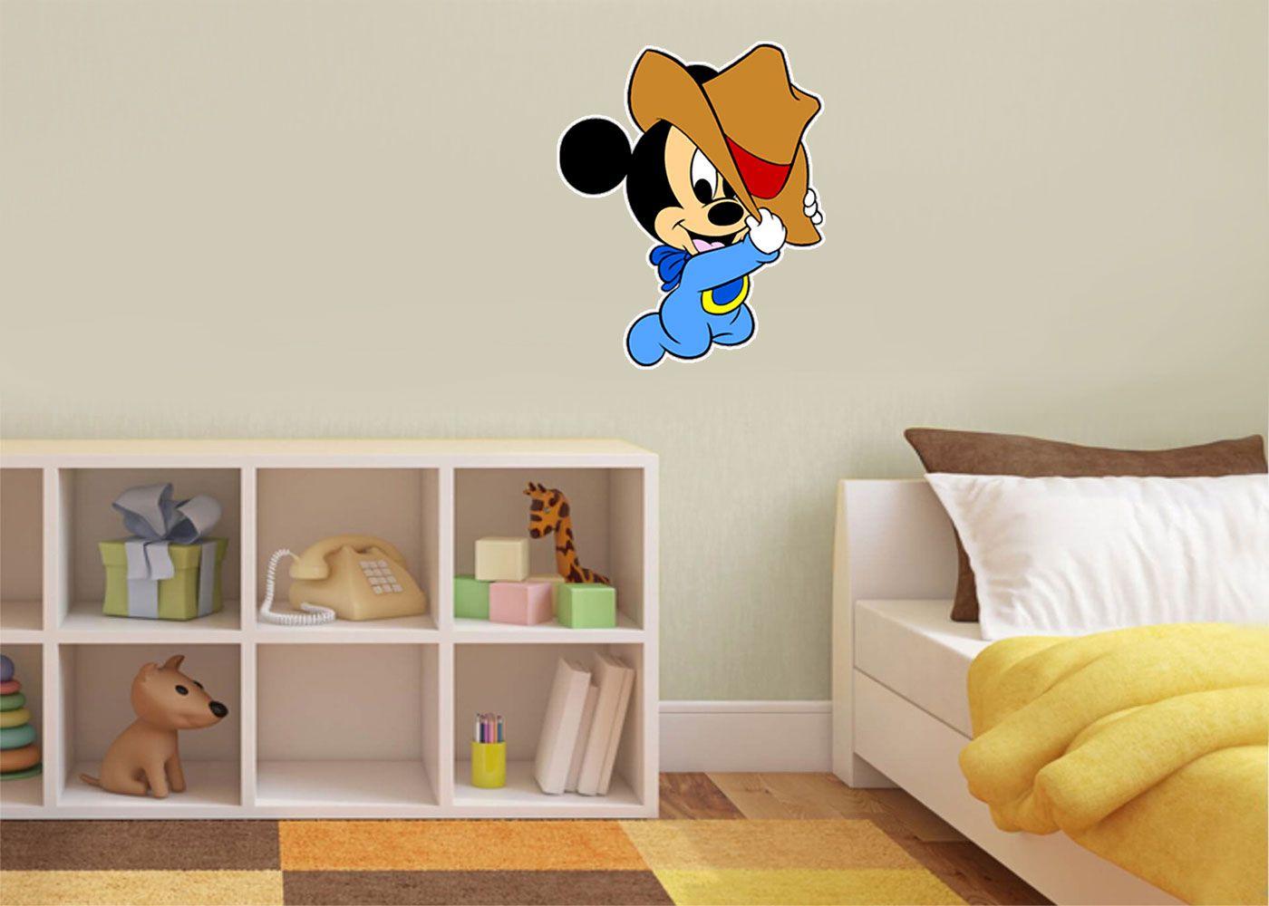 Adesivo Decorativo Mickey 0030  - Paredes Decoradas