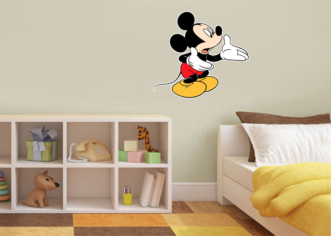 Adesivo Decorativo Mickey 0031  - Paredes Decoradas