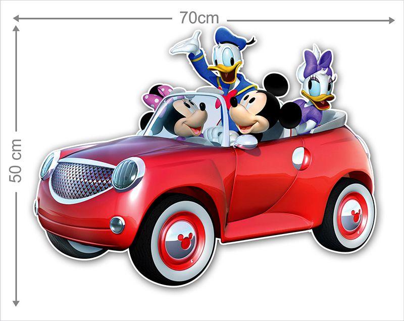 Adesivo Decorativo Mickey 0034  - Paredes Decoradas