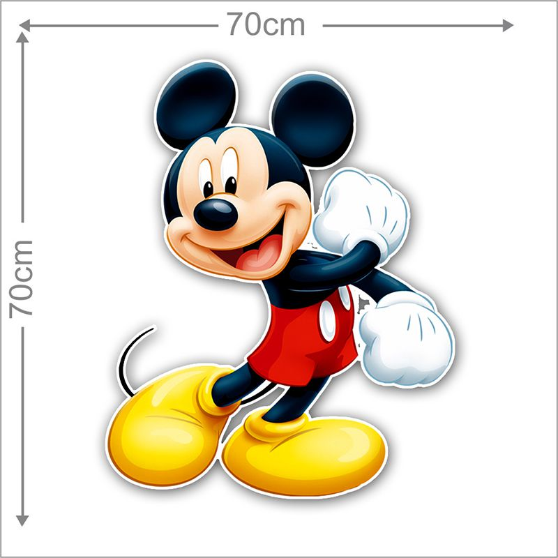 Adesivo Decorativo Mickey 0038  - Paredes Decoradas