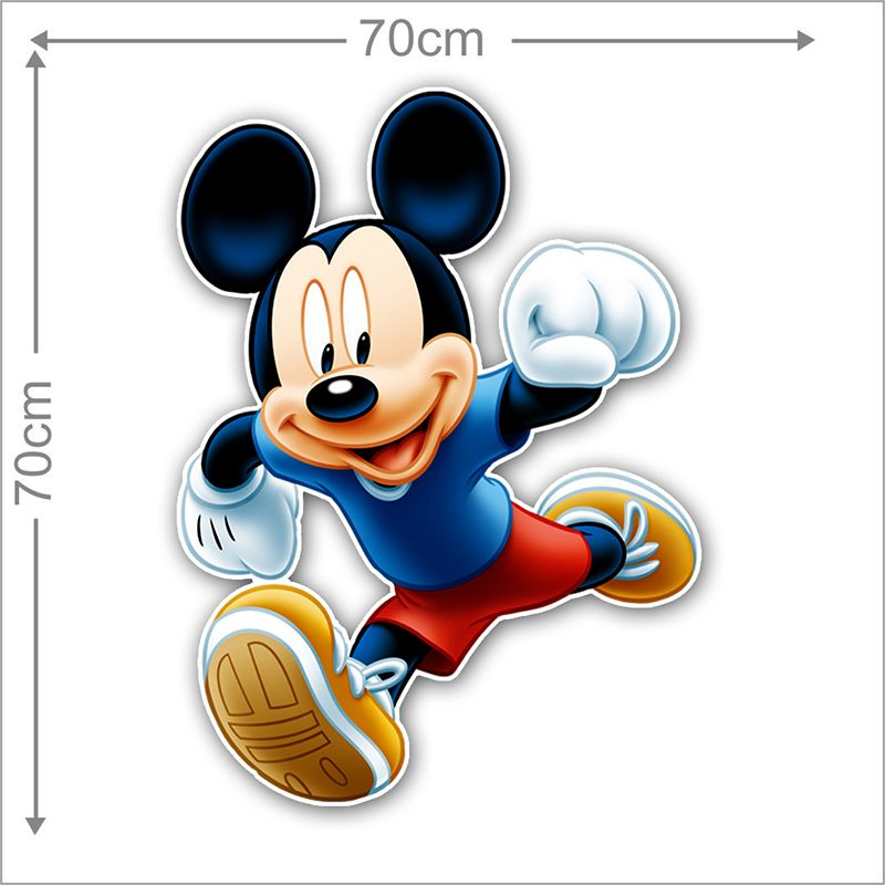 Adesivo Decorativo Mickey 0039  - Paredes Decoradas
