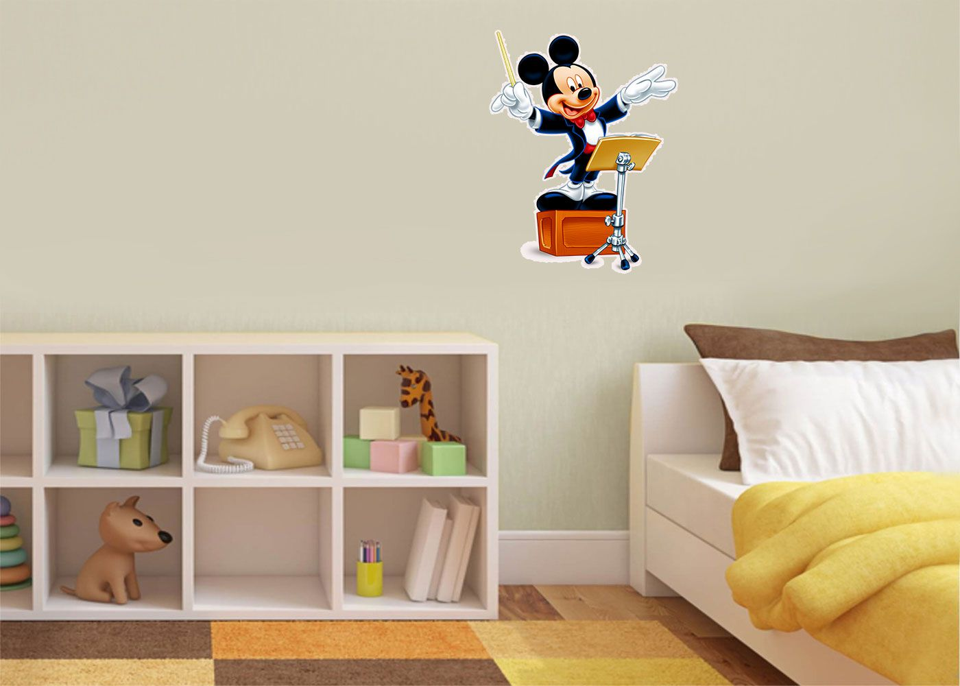 Adesivo Decorativo Mickey 0040  - Paredes Decoradas