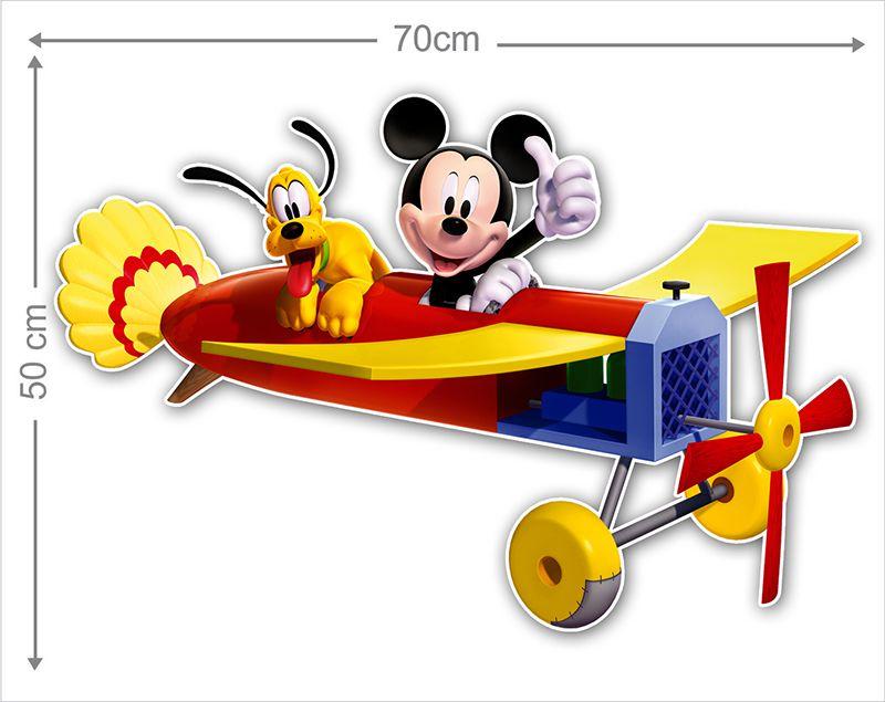 Adesivo Decorativo Mickey 0043  - Paredes Decoradas