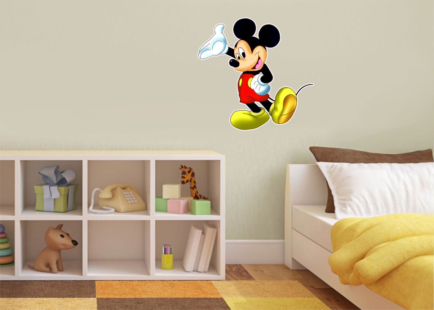 Adesivo Decorativo Mickey 0048  - Paredes Decoradas