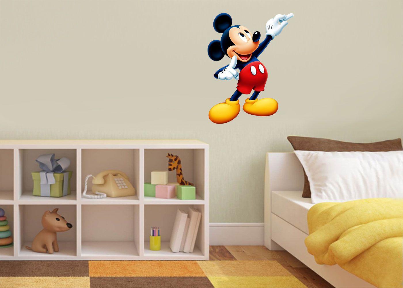 Adesivo Decorativo Mickey 0049  - Paredes Decoradas