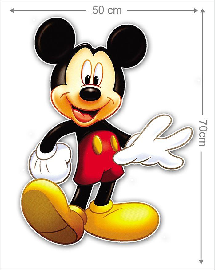 Adesivo Decorativo Mickey 0050  - Paredes Decoradas