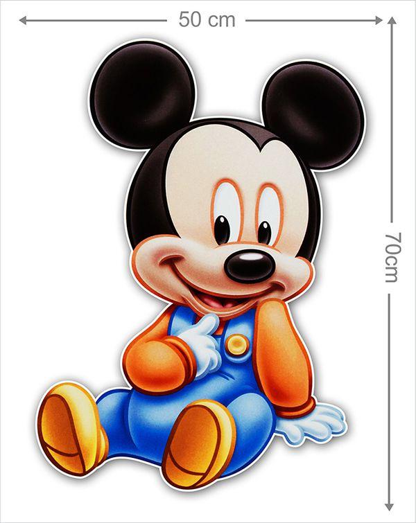 Adesivo Decorativo Mickey 0051  - Paredes Decoradas