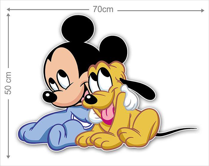 Adesivo Decorativo Mickey 0052  - Paredes Decoradas