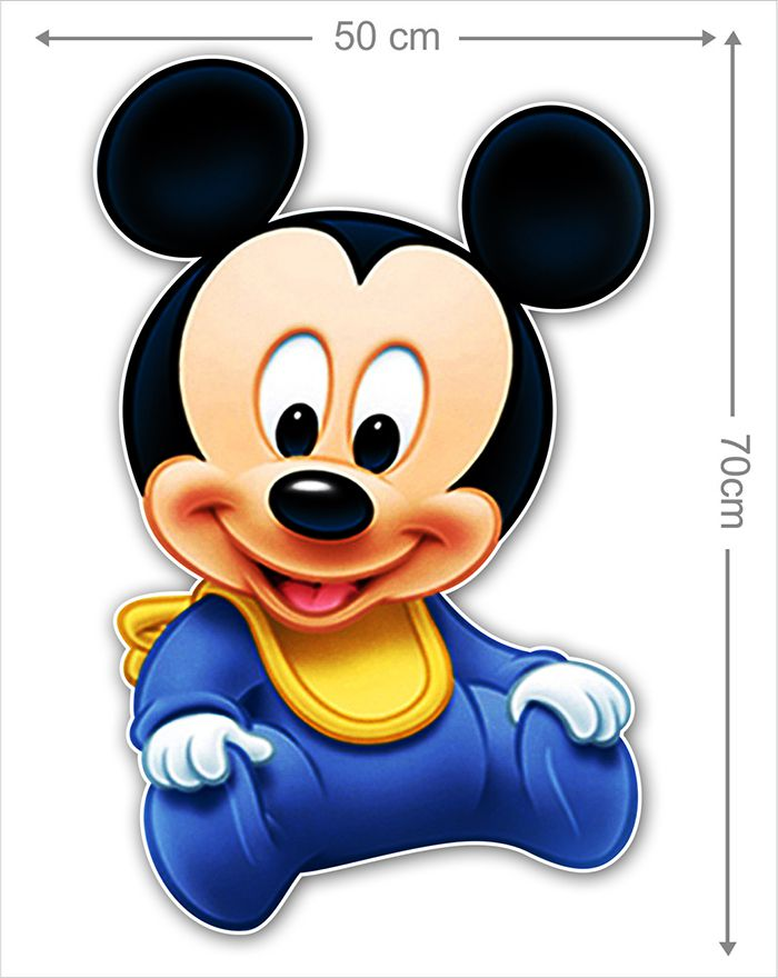 Adesivo Decorativo Mickey 0053 - Paredes Decoradas
