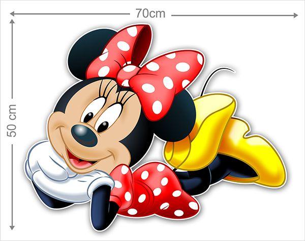 Adesivo Decorativo Minie 0013  - Paredes Decoradas