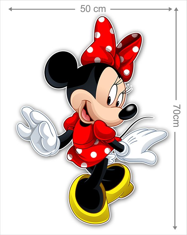 Adesivo Decorativo Minie 0020  - Paredes Decoradas