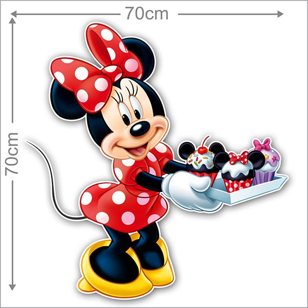 Adesivo Decorativo Minie 0024  - Paredes Decoradas