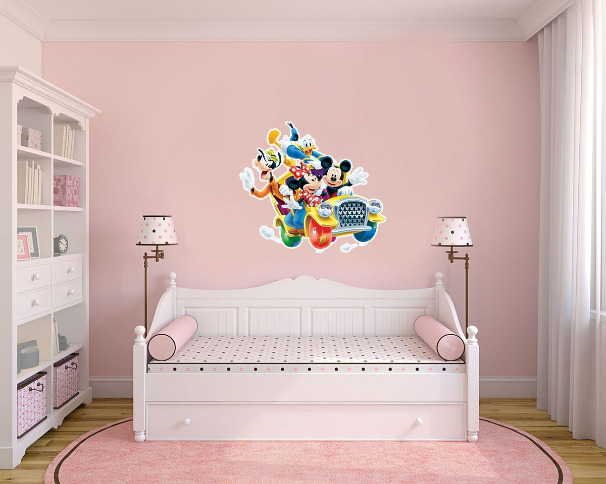 Adesivo Decorativo Minie 0040  - Paredes Decoradas
