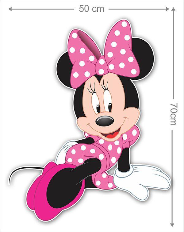 Adesivo Decorativo Minie 0046  - Paredes Decoradas