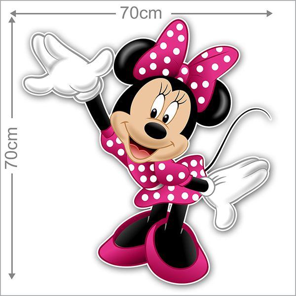 Adesivo Decorativo Minie 0047  - Paredes Decoradas