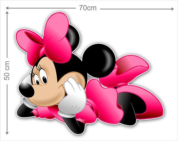 Adesivo Decorativo Minie 0059  - Paredes Decoradas