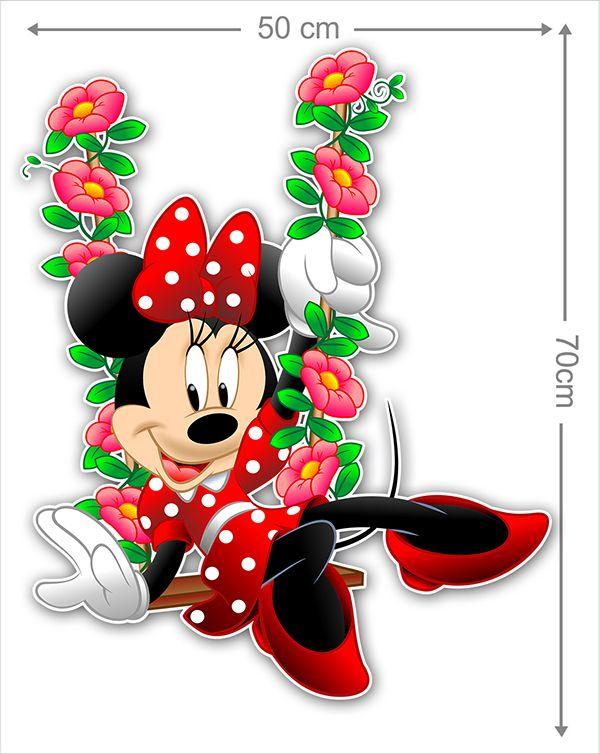 Adesivo Decorativo Minie 0060  - Paredes Decoradas