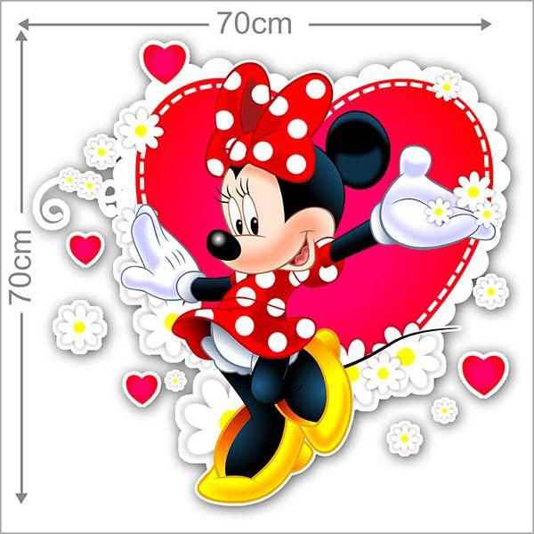 Adesivo Decorativo Minie 0064