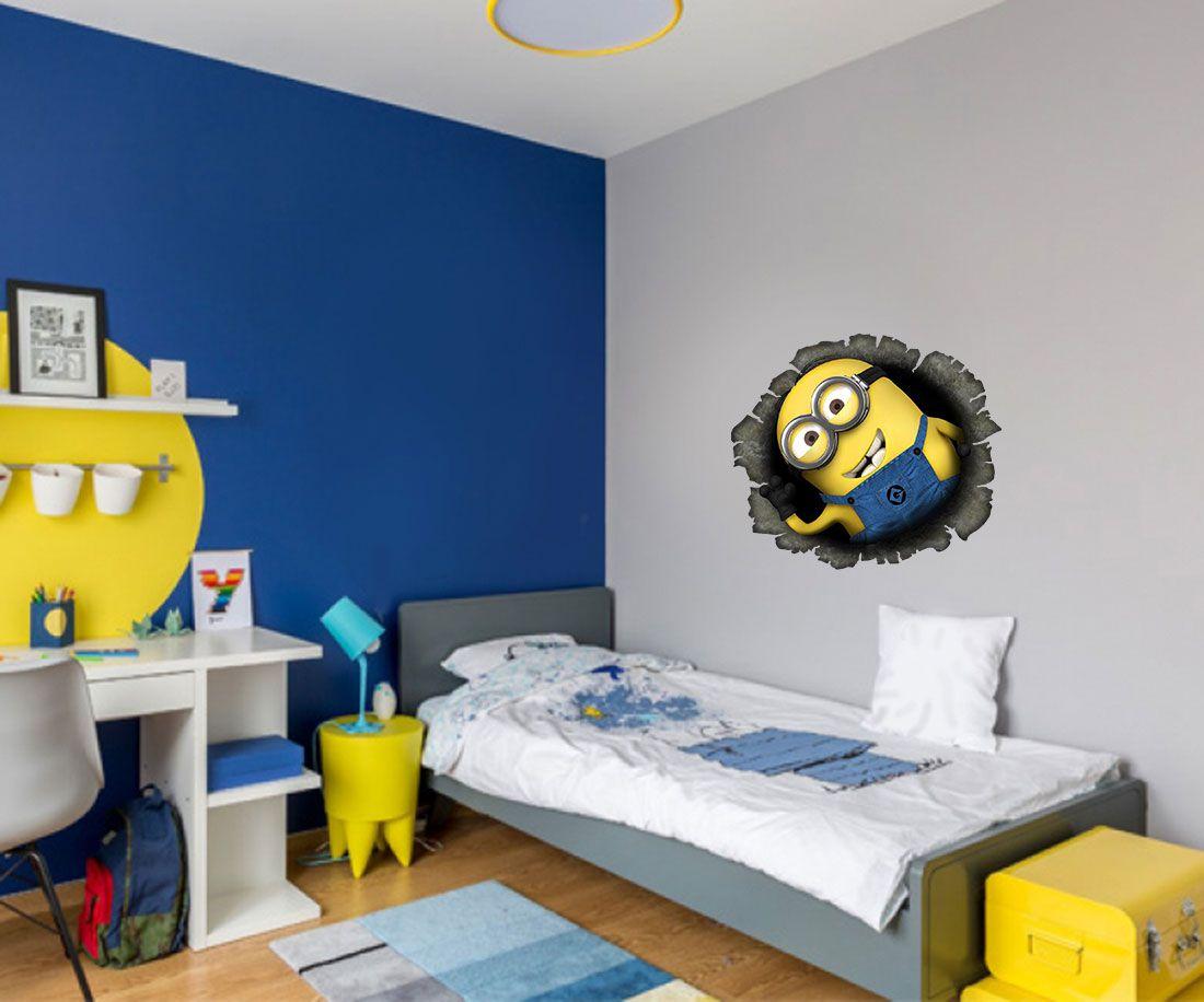 Adesivo Decorativo Minions 0003