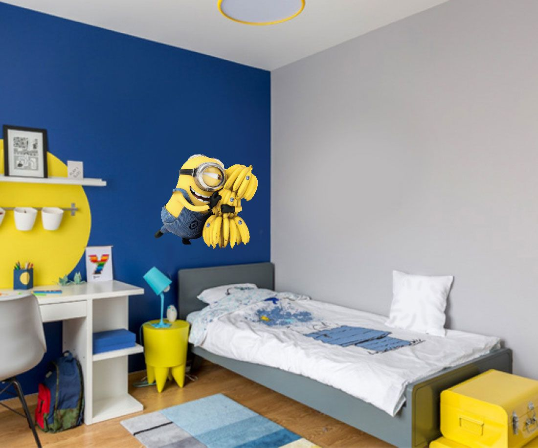 Adesivo Decorativo Minions 0006