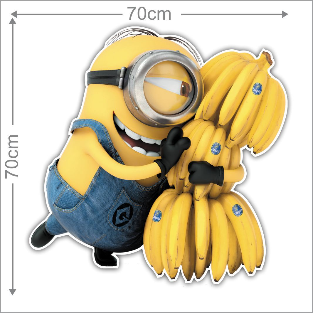Adesivo Decorativo Minions 0006  - Paredes Decoradas