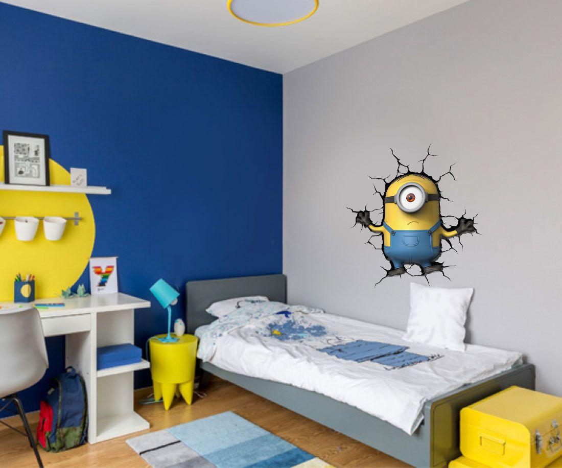 Adesivo Decorativo Minions 0008