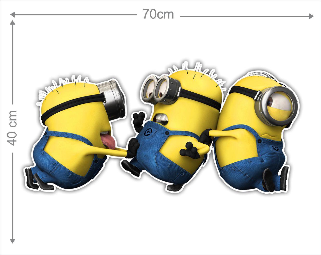 Adesivo Decorativo Minions 0011  - Paredes Decoradas