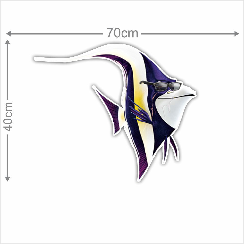 Adesivo Decorativo Nemo 0011  - Paredes Decoradas