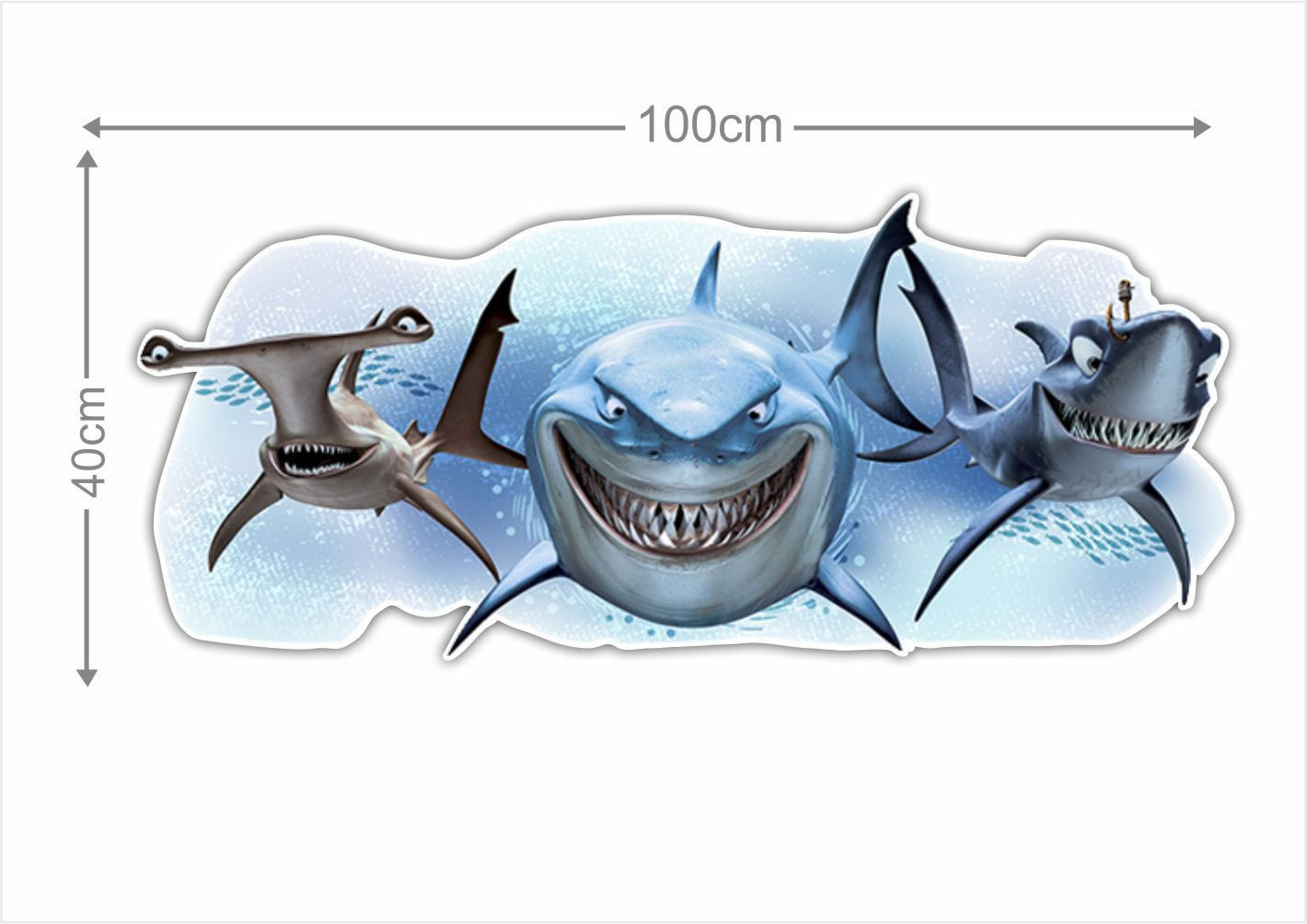 Adesivo Decorativo Nemo 0013  - Paredes Decoradas