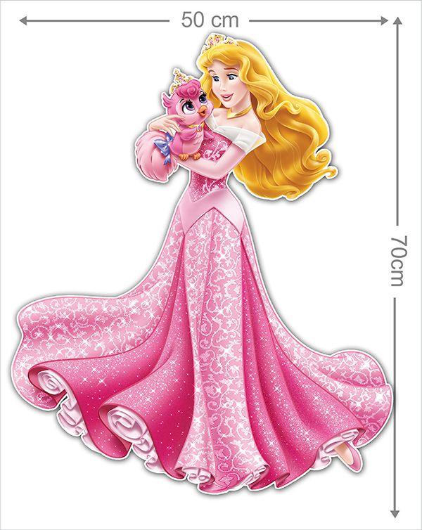 Adesivo Decorativo Princesas 0004  - Paredes Decoradas