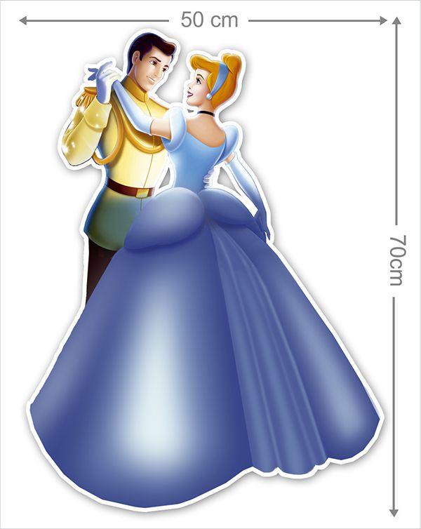 Adesivo Decorativo Princesas 0011