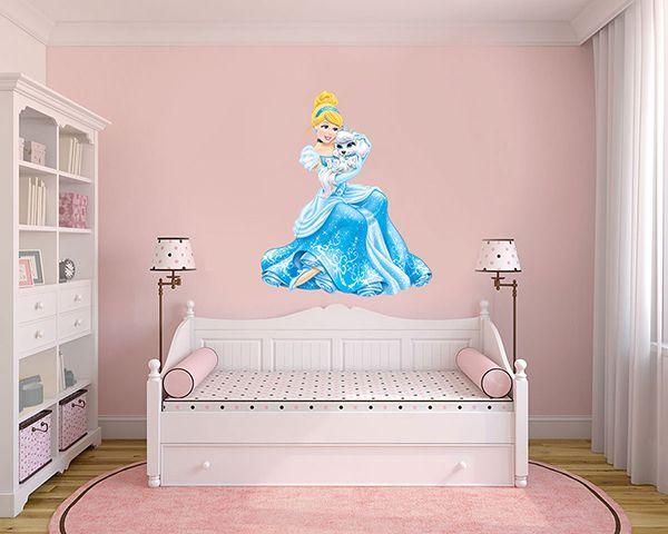 Adesivo Decorativo Princesas 0012