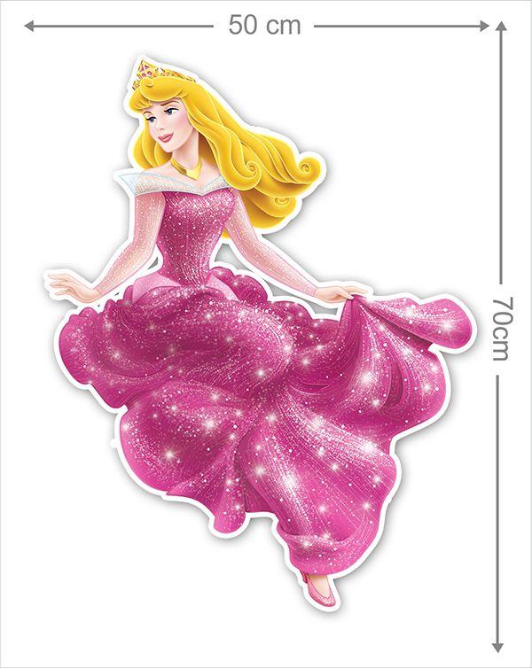 Adesivo Decorativo Princesas 0018  - Paredes Decoradas